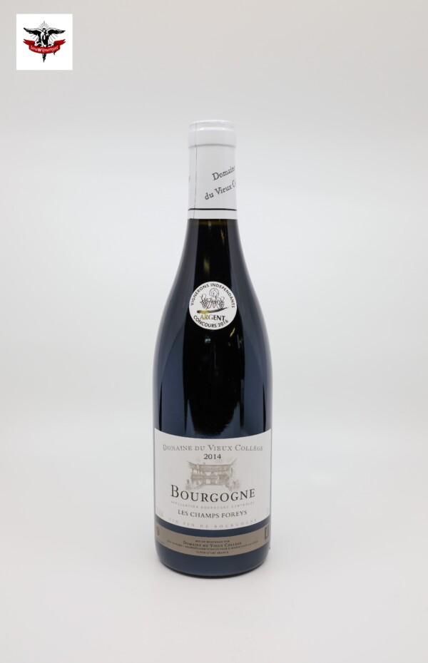 Bourgogne Rouge - Domaine du Vieux Collège Champs Foreys