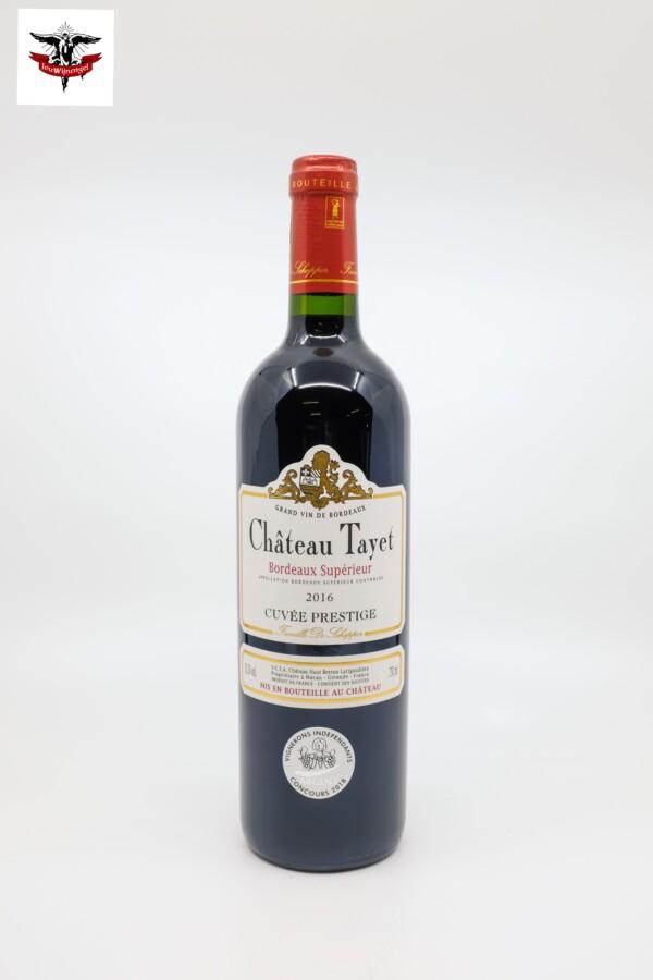 Château Tayet Cuvée Prestige - Bordeaux Supérieur 2016