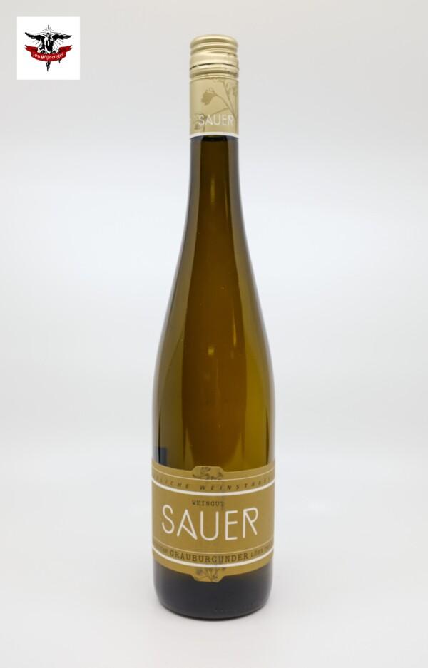 Heiner Sauer Grauburgunder herrenberg