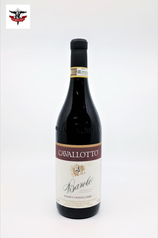 Cavallotto Barolo riserva Vignolo 2006